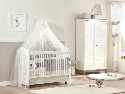 Almila Babyzimmer Set Mia mit Säuglingsbett 60x120