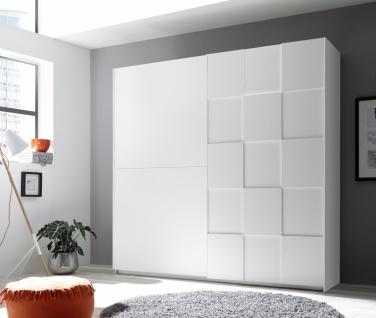 Schlafzimmer in Weiß Ottea 4-teilig 180x200 - Vorschau 2