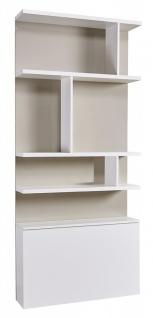 Bücherregal Royals in Hochglanz 100 cm
