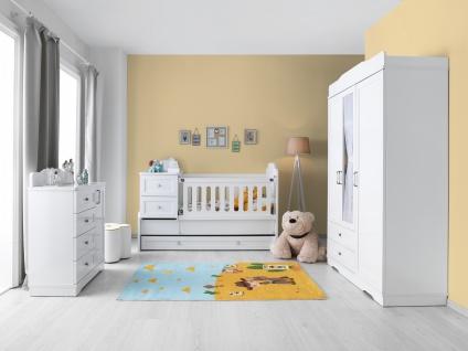 Babyzimmer Set 3-teilig Panja in Weiß
