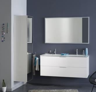 Badezimmermöbel Set Saty 3-teilig in Weiß