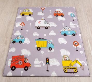 Cilek Spielteppich Kinderzimmer Autos 100x150
