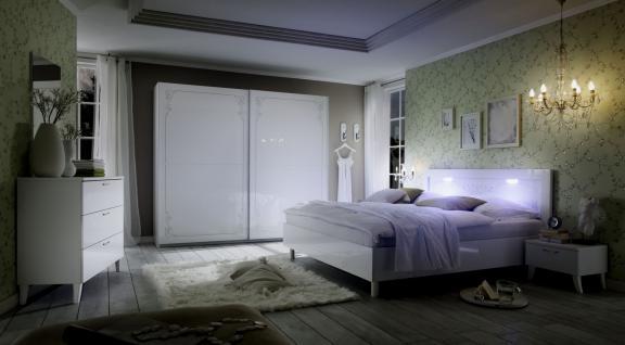 Schlafzimmer-Set Casa 4 teilig Weiß