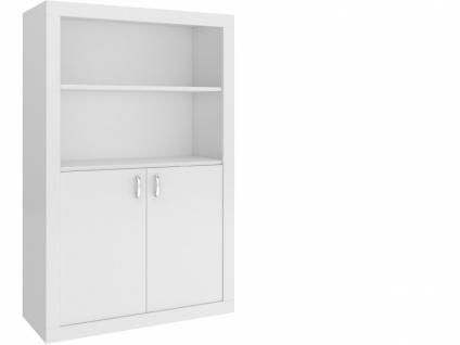 Jugendzimmer Bücherregal Phil 2-türig Weiß