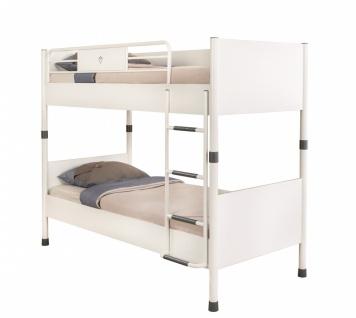 Cilek White Etagenbett mit zwei Liegeflächen