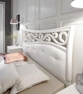 Design Bett Sereina in romantischem Stil 180x200