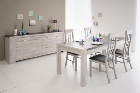 Parisot Malone Esszimmer Set 6-teilig mit Stühlen