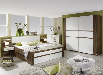 Schlafzimmer Set Eiche Stirling Bernau 2-teilig