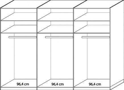 kleiderschrank 300 cm online bestellen bei yatego. Black Bedroom Furniture Sets. Home Design Ideas