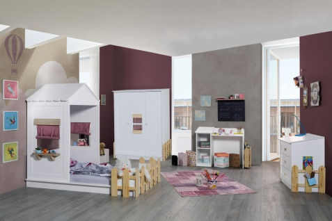 Kinderzimmer komplett Homeland in Pink