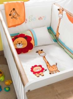 Cilek Baby Bettwäsche Set Safari 80x130