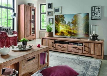 TV Lowboard aus indischem Holz Sanam - Vorschau 2