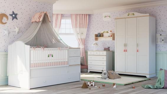Almila Babyzimmer Bianca Baby 4-teilig