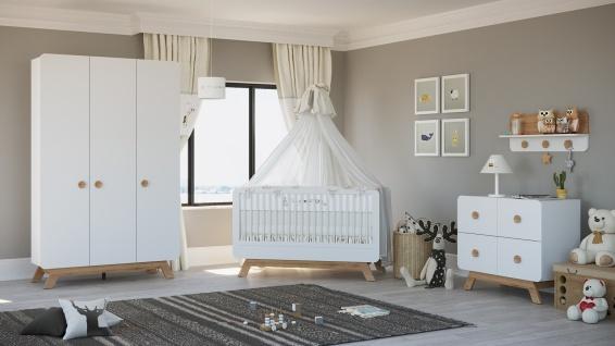 Babybett Baby Cute in Weiß - Vorschau 2