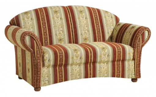 Sofa S-2 Corona Flachgewebe, rot