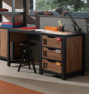 Schreibtisch Nils 125x55 cm in Kiefer massiv