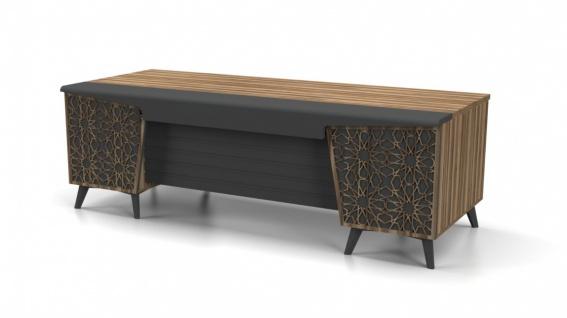 Design Schreibtisch Lazer mit großer Arbeitsfläche