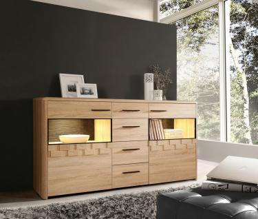 Sideboard Claudia 2-trg. in Sonoma Eiche