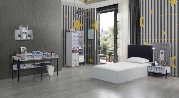 Titi Kinderzimmer Dynamic 5-teilig mit Bett 100x200