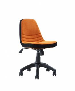 Kinder Schreibtischstuhl Curso höhenverstellbar in Orange