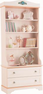 Cilek Flora Bücherregal mit 2 Schubladen
