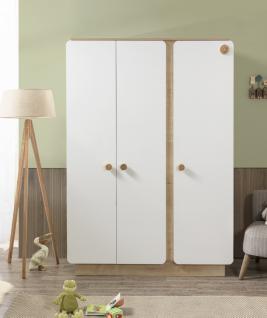 Cilek Natura Baby Kleiderschrank mit 3 Türen