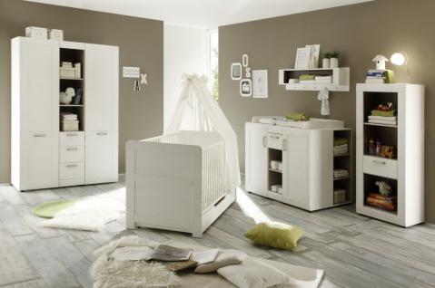 Babyzimmer Set Caty 5-teilig Pinie Weiß