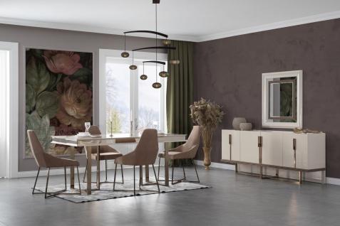 Lidya Esszimmer Set komplett Lucca Creme Bronze - Vorschau 3