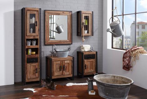 Badezimmerset Pontem 5-teilig aus Sheeshamholz
