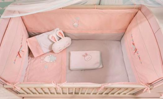 Cilek Baby Girl Bettwäsche-Set in Rosa 80x130