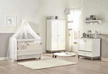 Almila Babyzimmer komplett Mia mit Schaukelbett