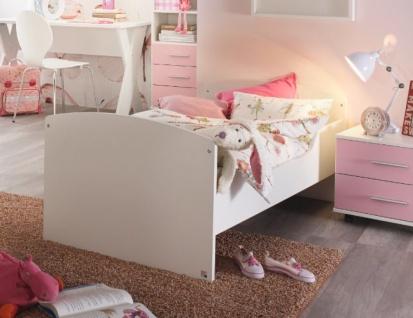 Kinderbett in Weiß Aik mit Lattenrost 70x140cm