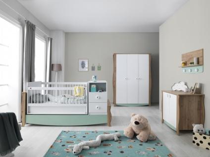 Babyzimmer mit Schaukelbett mitwachsend Loop Baby