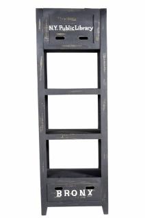 Bücherregal Sewe mit 2 Böden 60x185x35