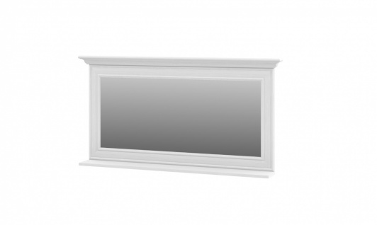 Neman Wandspiegel mit Ablage109 cm Juna Weiß