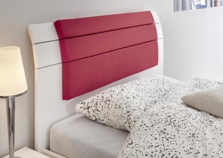 Design Jugendbett Space Kopfteil Weiß 160x200