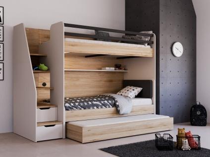 Almila Kinderzimmer New Options mit 3 Schlafplätzen