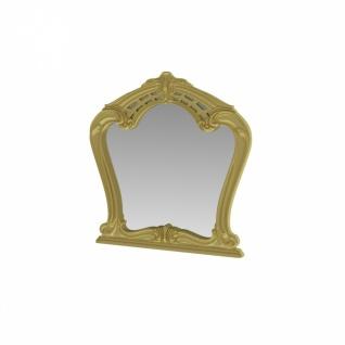Barock Spiegel Julianna im Glanzrahmen Gold