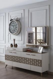 Komplettes Esszimmer Set 8-teilig Mansat Weiß - Vorschau 2