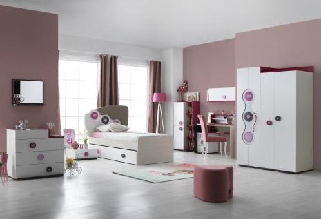 Mädchen Kinderzimmer Set 7-teilig Point Young - Kaufen bei Möbel-Lux