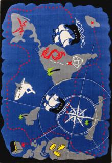 Cilek Black Pirate Teppich 133x190