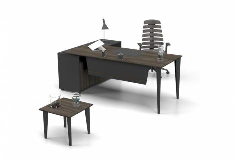 Design Schreibtisch L-Form Icono PlusL 140x70