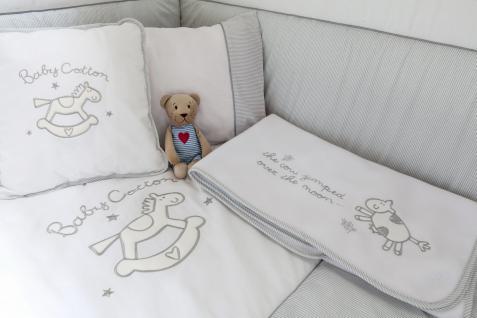 Cilek Baby Cotton Babybettwäscheset 8-teilig 75x115