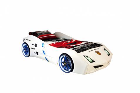 Autobett Cat Garage Car mit Beleuchtung und Sound