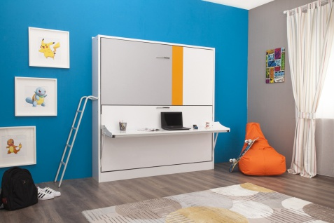 Multimo Etagenbett mit Tisch Smart Bunk Dunkelgelb