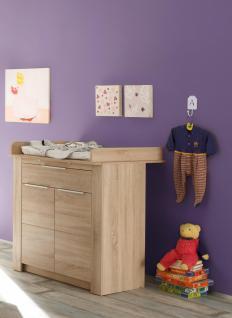Babyzimmer Set Jara 3-teilig in Eiche Sägerau - Vorschau 2