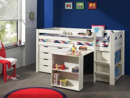 Kinderhochbett weiß  Kinderhochbett Weiß online bestellen bei Yatego
