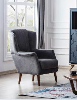 Sofa Set Beta mit Schlaffunktion in Nubuk Optik - Vorschau 2