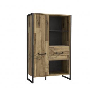 Büromöbel Set in Stabeiche Optik Hana 4-teilig - Vorschau 3