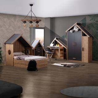 Odacix Kinderzimmer komplett Sultan Montessori 4-teilig